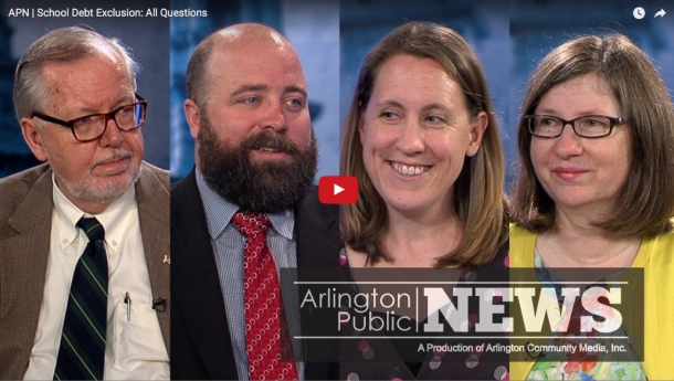 Special Town Election School Debt Exclusion Dan Dunn, Kirsi Allison-Ampe, Jane Morgan, Charlie Foskett