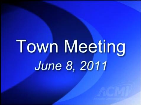 Town Meeting – June 8, 2011