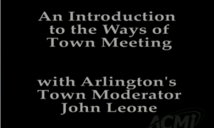 Intro to the Ways of Town Meeting