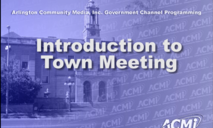 Introduction to Town Meeting – April 18, 2013