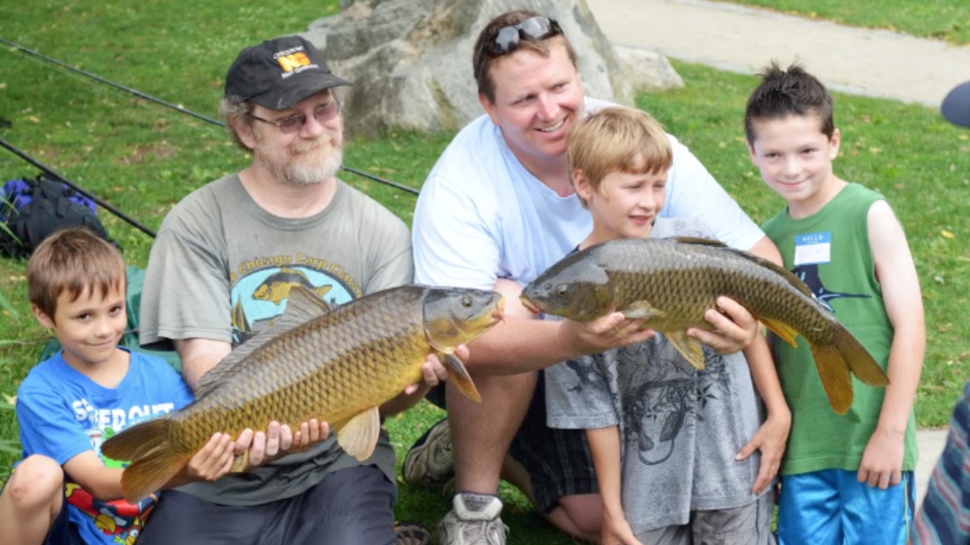 Comfort Food: Carp Fishing at Spy Pond