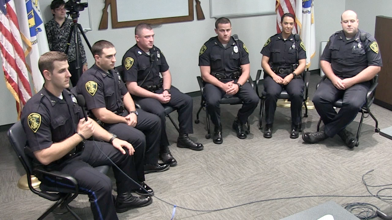 New APD Officers – July 2013
