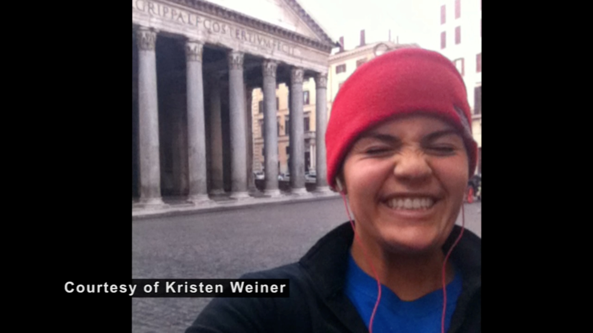 Boston Marathon: Kristen Weiner
