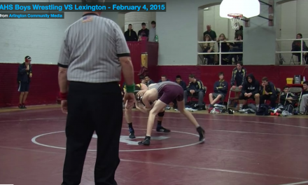 AHS Boys Wrestling VS Lexington – February 4, 2015