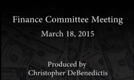 Finance Committee Meeting – March 18, 2015