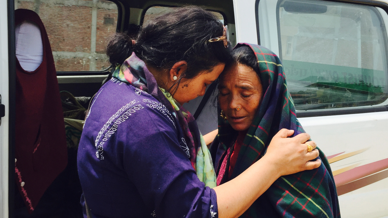 Samisha LaMeyer on her trip to Nepal