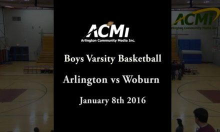 AHS Varsity Boys Basketball vs Woburn – January 8, 2016