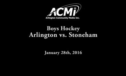 AHS Varsity Boys Hockey vs Stoneham – January 28, 2016