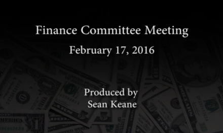 Finance Committee Meeting – February 17, 2016
