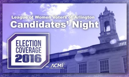League of Women Voters: Arlington Candidate's Night 2016