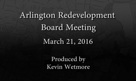 Redevelopment Board Meeting – March 21, 2016
