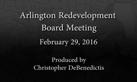 Redevelopment Board Meeting – February 29, 2016