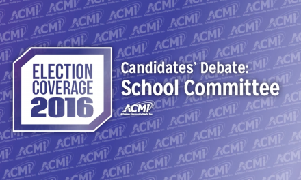 ACMi Candidates' Debate 2016: School Committee