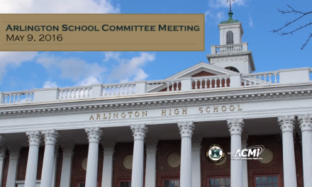 School Committee – May 9, 2016