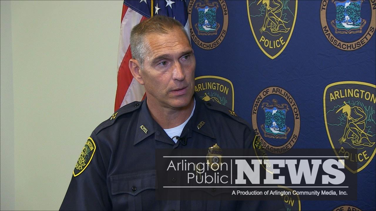 Arlington Police Chief Fred Ryan Testifies in the U.S. Senate