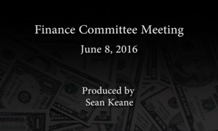 Finance Committee – June 8, 2016