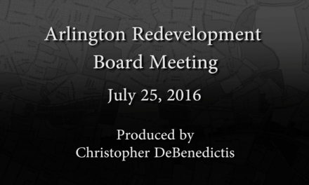 Redevelopment Board Meeting – July 25, 2016