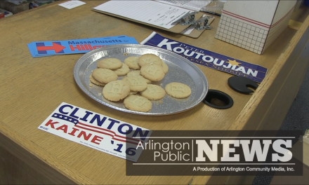 Arlington Democratic Town Committee opens a regional office for Hillary Clinton in the Heights