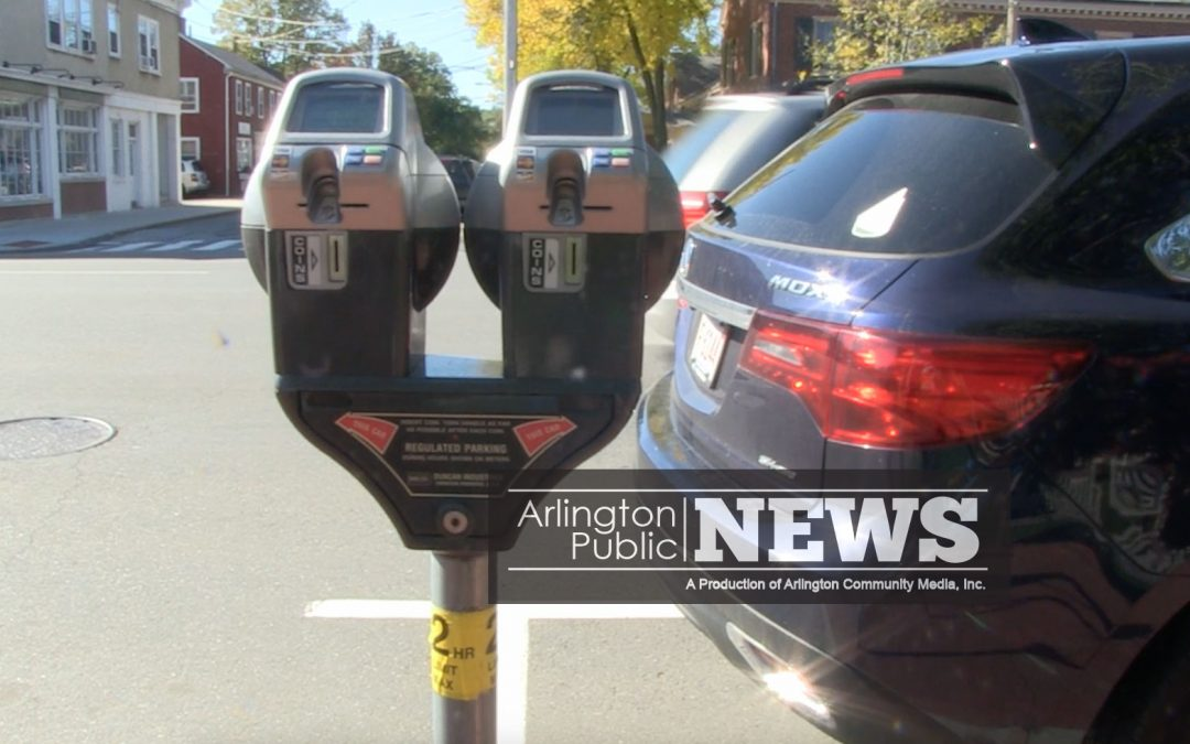 Parking Meters Come To Arlington Center