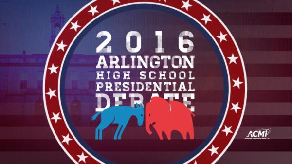 Arlington High School Presidential Debate 2016