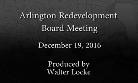Redevelopment Board Meeting – December 19, 2016