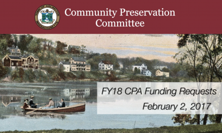 Community Preservation Committee – February 2, 2017