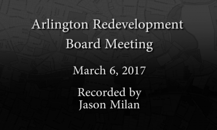 Redevelopment Board Meeting – March 6, 2017