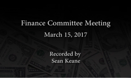 Finance Committee – March 15, 2017