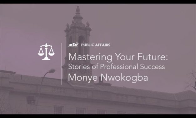 Mastering Your Future: Tales of Professional Success – Monye Nwokogba