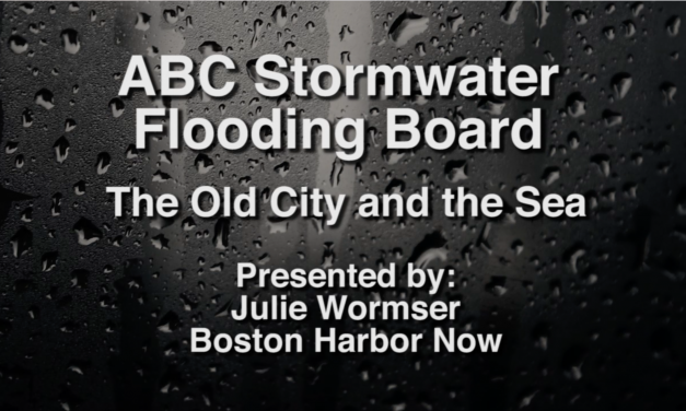 ABC Stormwater Flooding Board: The Old City and the Sea – January 10, 2017