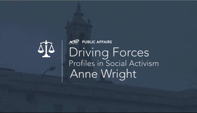 Driving Forces (Profiles in Social Activism) – Anne Wright