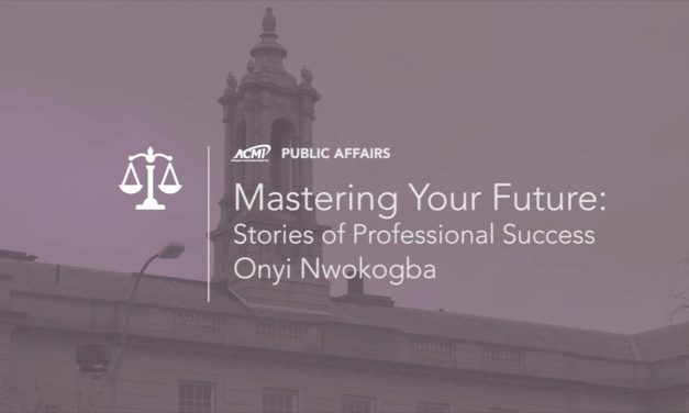 Mastering Your Future: Tales of Professional Success – Onyi Nwokogba