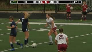 Arlington High School Girls Varsity Soccer vs Wilmington – Oct. 6, 2017