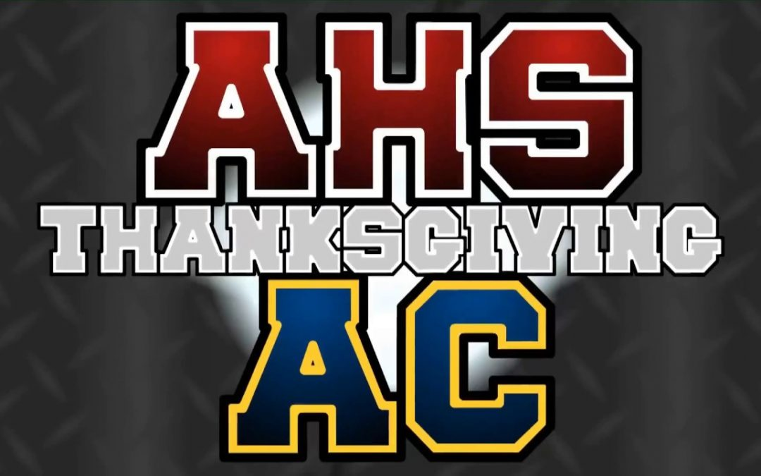 Arlington High School Varsity Football vs Arlington Catholic – Thanksgiving, 2017