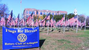 Flags Fly for Heroes