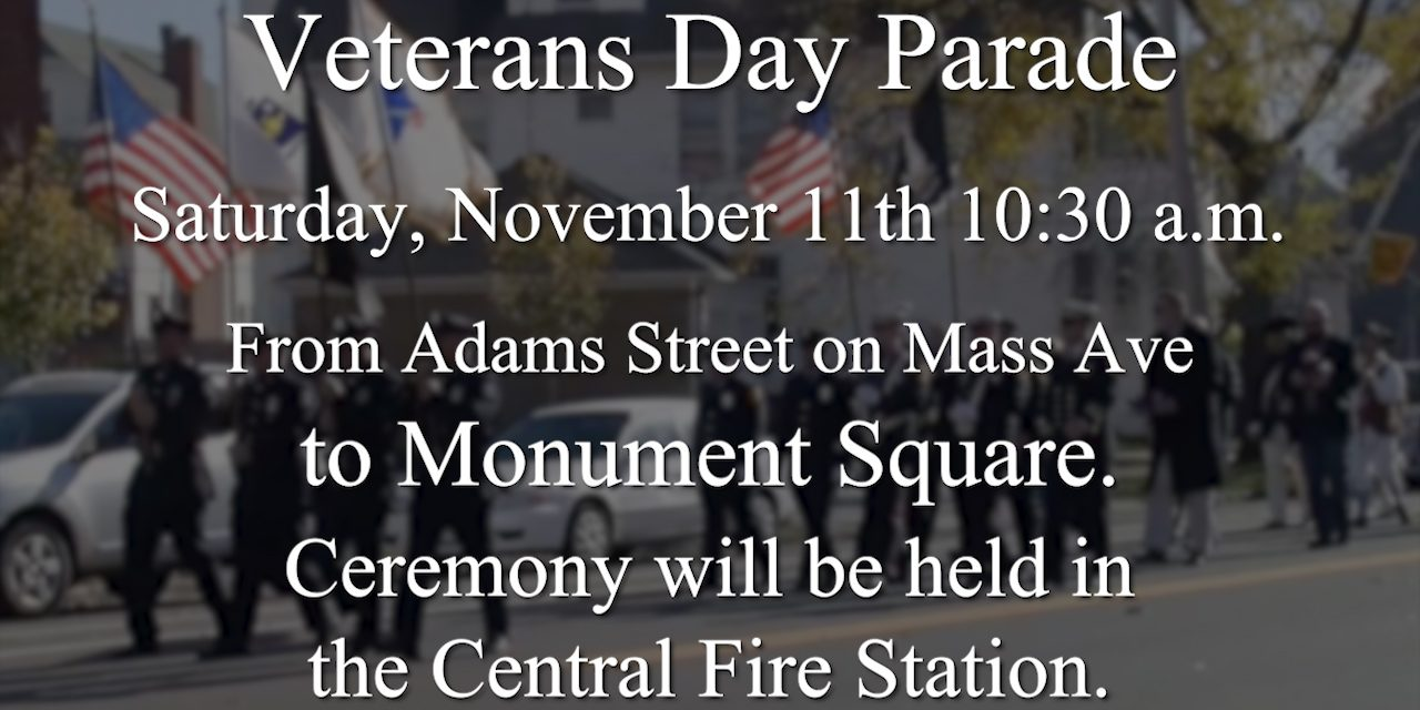 Veterans Day Ceremony Moved