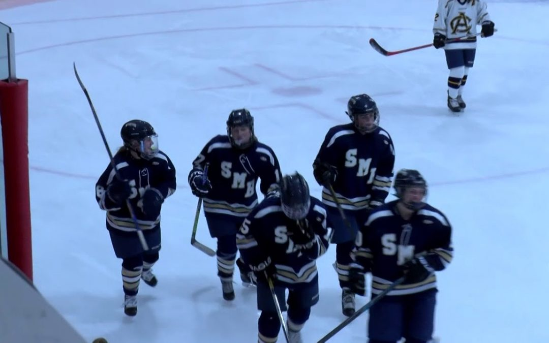 Arlington Catholic Girls Varsity Hockey vs St. Mary's – December 16, 2017