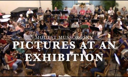 """Music Gazing – Modest Mussorgsky's """"Pictures at an Exhibition"""" – Arlington Philharmonic Orchestra"""