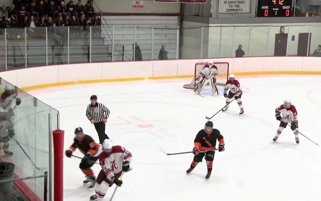 Arlington High School Boys Hockey vs Woburn – January 6, 2018