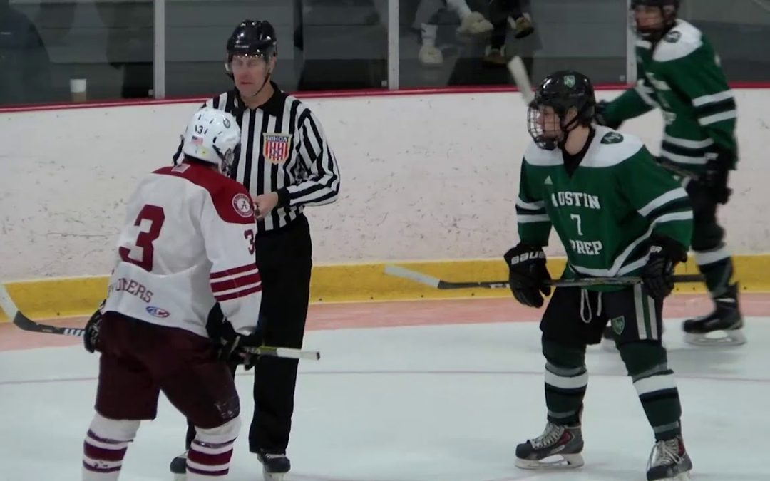 Arlington High School Boys Hockey vs Austin Prep – January 17, 2018