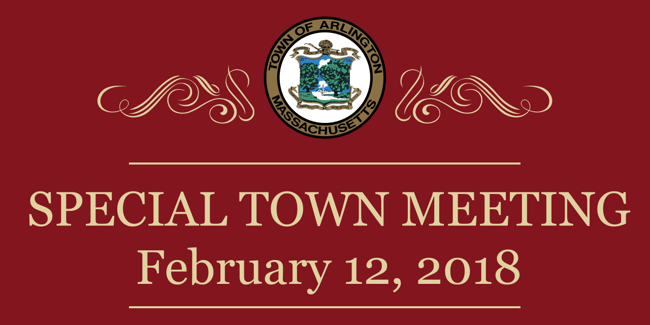 2018 Special Town Meeting