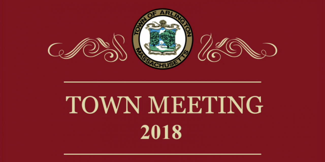 Town Meeting 2018 Wraps Up for the Year