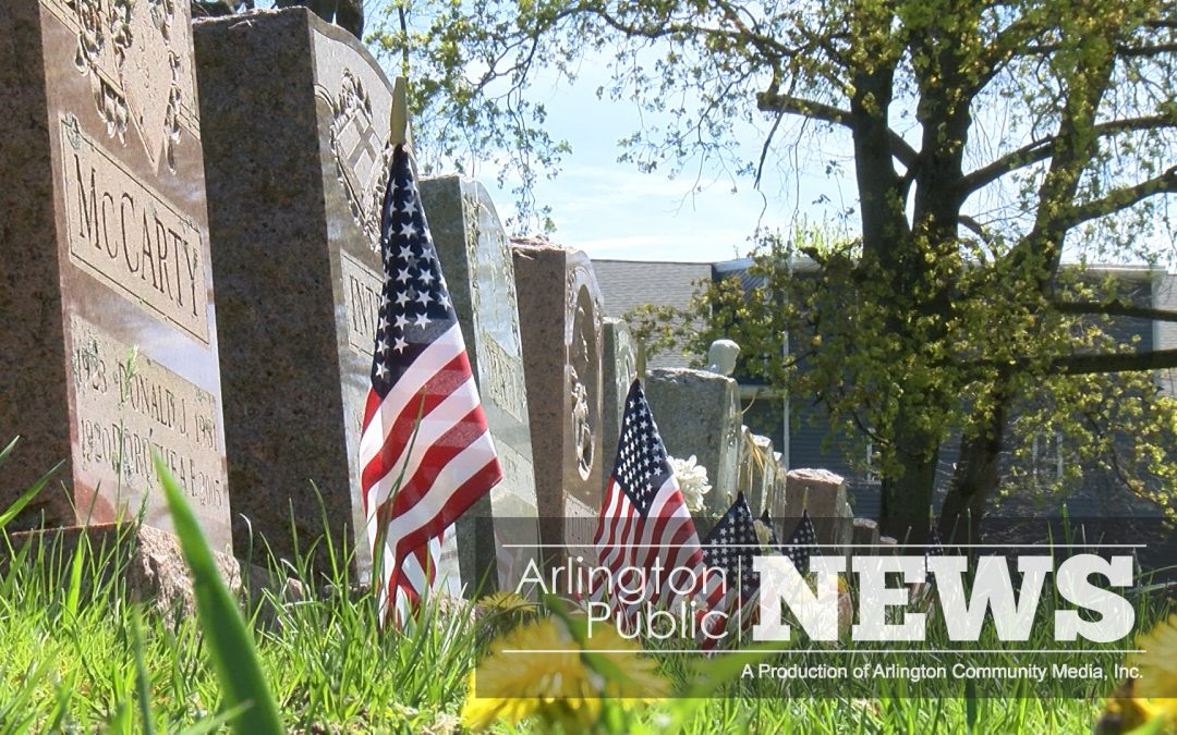 Flags Honor Fallen Heroes