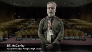 Inside Arlington High School: Auditorium