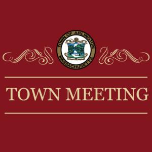 2021 Annual Town Meeting