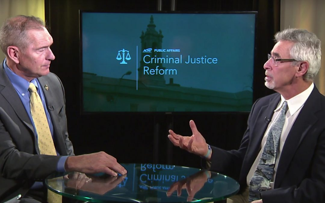 Criminal Justice Reform: Chief Fred Ryan – October 30, 2018