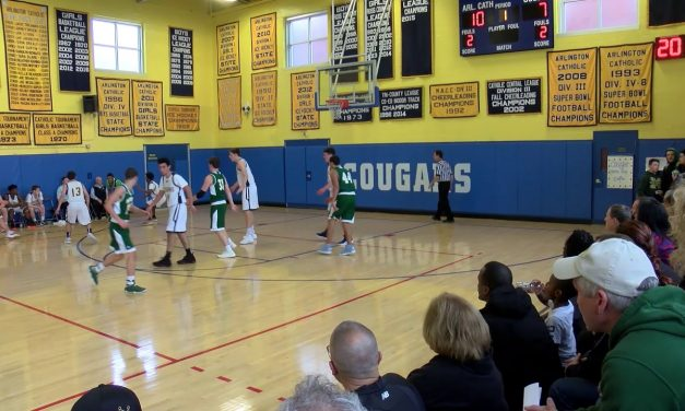 Arlington Catholic Boys Basketball vs Matignon – December 15, 2018