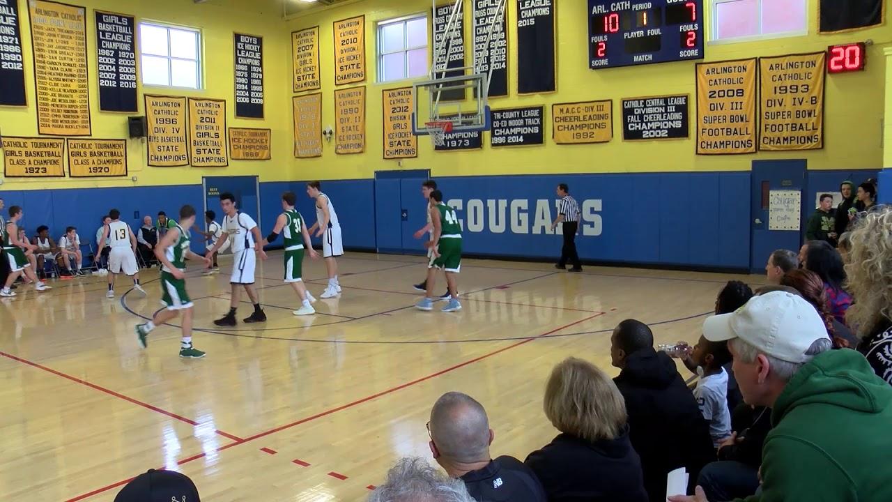 c01121a95893 Arlington Catholic Boys Basketball vs Matignon - December 15