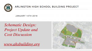 AHS Building Committee Community Forum – January 14, 2019
