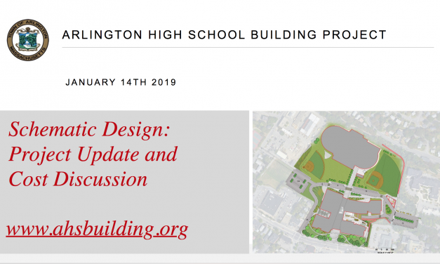 AHS Building Committee Community Forum – January 14, 2019